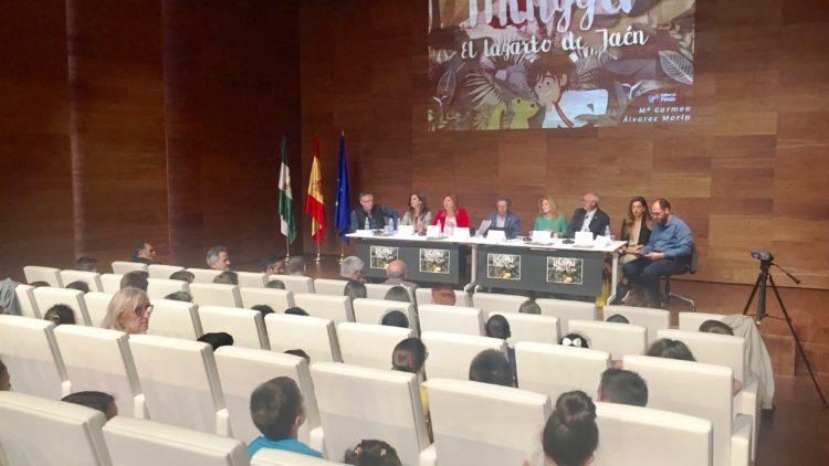 """Presentación: """"Minggu. El lagarto de Jaén"""". Museo Ibero."""